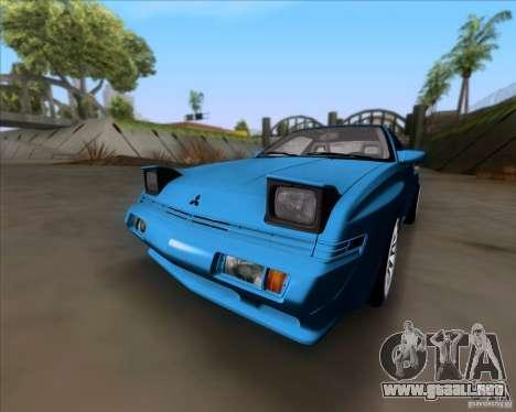 Mitsubishi Starion para GTA San Andreas left