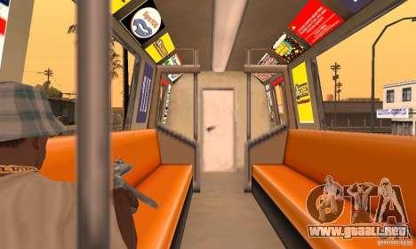 Liberty City Train DB para la visión correcta GTA San Andreas
