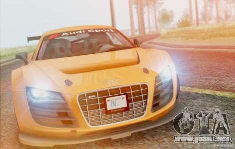 Audi R8 LMS GT3 para visión interna GTA San Andreas