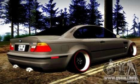 BMW M3 JDM Tuning para la visión correcta GTA San Andreas