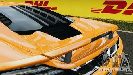 McLaren MP4-12C v1.0 [EPM] para GTA 4 ruedas