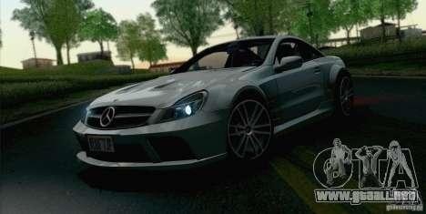 Mercedes-Benz SL65 AMG Black Series para la visión correcta GTA San Andreas