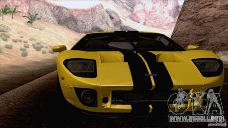 SA_nGine v1.0 para GTA San Andreas segunda pantalla