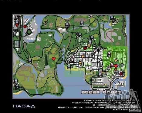 Piloto de trabajo para GTA San Andreas sexta pantalla