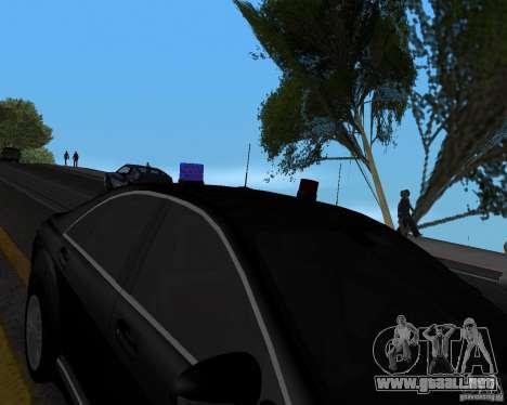 Emergency Lights para GTA San Andreas tercera pantalla