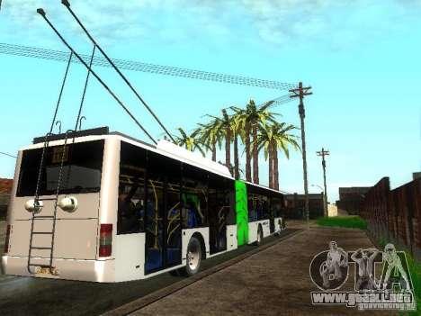 Trolebús LAZ E301 para la visión correcta GTA San Andreas