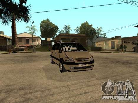 Opel Zafira para visión interna GTA San Andreas