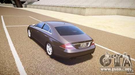 Mercedes-Benz CLS 63 para GTA 4 visión correcta