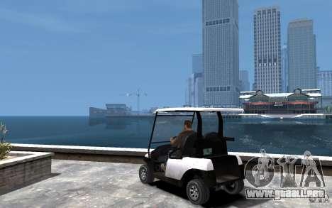 Caddy To IV para GTA 4 Vista posterior izquierda