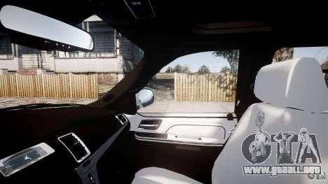 Cadillac Escalade ESV para GTA 4 vista superior