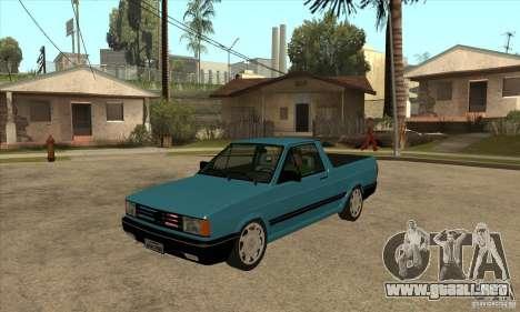 VW Saveiro GL 1989 para GTA San Andreas