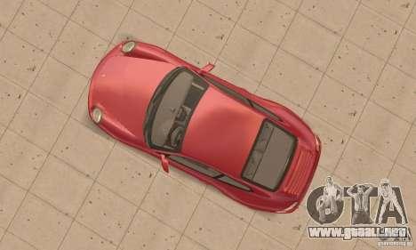 Porsche 911 (997) Carrera S v1.1 para la visión correcta GTA San Andreas