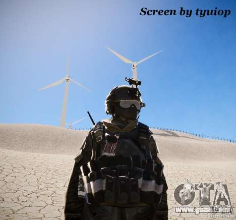MW2 Phoenix Paratroopers para GTA 4