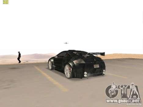Mitsubishi Eclipse GT NFS-MW para la visión correcta GTA San Andreas