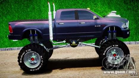 Dodge Ram 3500 2010 Monster Bigfut para GTA 4 vista interior