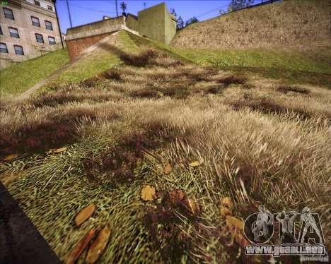 Grass form Sniper Ghost Warrior 2 para GTA San Andreas quinta pantalla