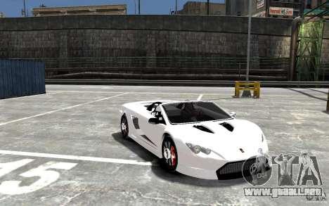 K1 Attack Concept para GTA 4 vista hacia atrás