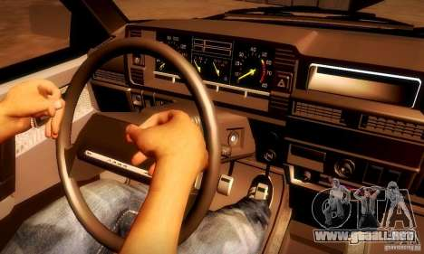 VAZ 2108 v2.0 para GTA San Andreas vista posterior izquierda
