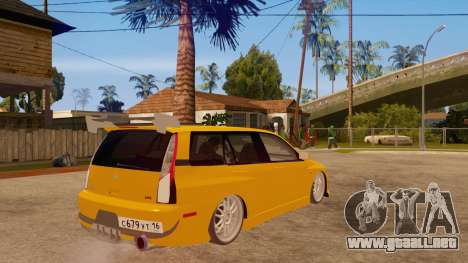Mitsubishi Lancer Evolution IX Wagon MR Drift para la visión correcta GTA San Andreas