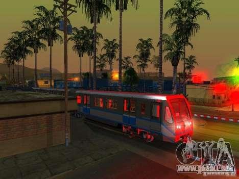 Nueva señal de tren para GTA San Andreas séptima pantalla