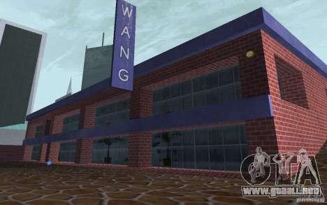 Nuevo concesionario Wang Cars para GTA San Andreas