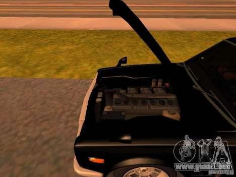 Nissan Skyline 2000GTR para visión interna GTA San Andreas