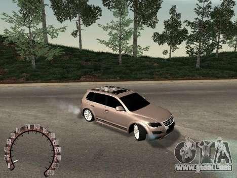 Volkswagen Touareg para GTA San Andreas