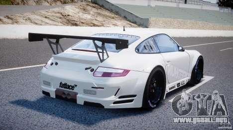 Porsche GT3 RSR 2008 SpeedHunters para GTA 4 vista superior