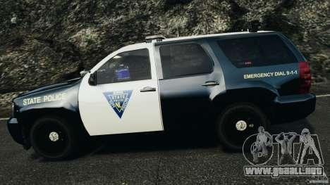 Chevrolet Tahoe Marked Unit [ELS] para GTA 4 vista desde abajo