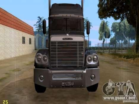 Freightliner Coronado para GTA San Andreas left