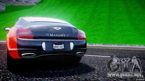 Bentley Continental SS 2010 Le Mansory [EPM] para GTA 4 ruedas