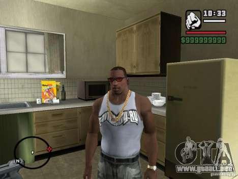 Camiseta con el logo de nuestro sitio amado para GTA San Andreas segunda pantalla