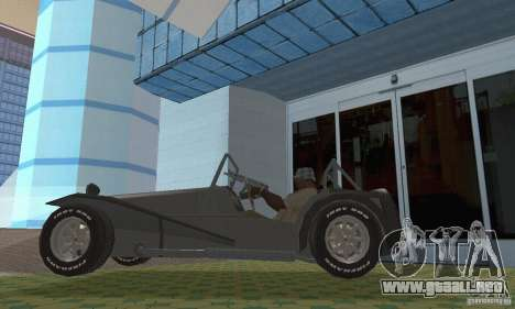 Lotus Seven para la visión correcta GTA San Andreas