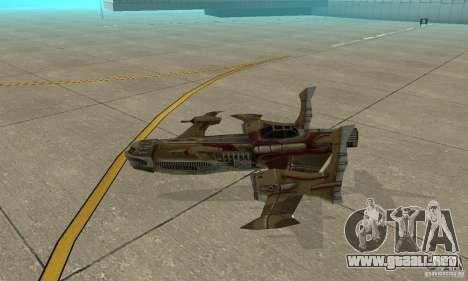 Hydra TimeShift Skin 1 para GTA San Andreas vista posterior izquierda