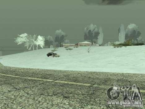 Frozen bone country para GTA San Andreas sucesivamente de pantalla