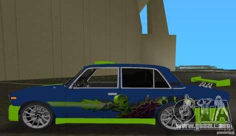 2106 VAZ Tuning v3.0 para GTA Vice City vista lateral izquierdo