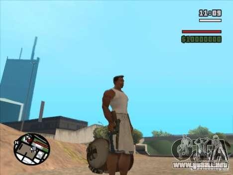 TOMSON para GTA San Andreas tercera pantalla