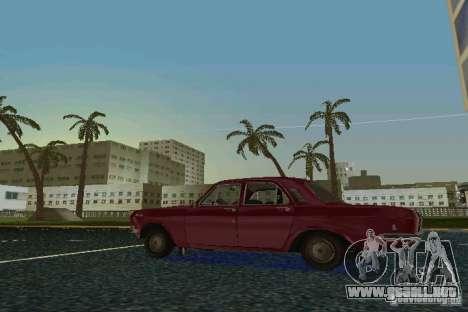Volga GAZ 24 para GTA Vice City visión correcta