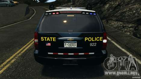 Chevrolet Tahoe Marked Unit [ELS] para GTA motor 4