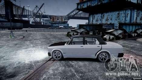 ВАЗ 2107 Drift para GTA 4 visión correcta