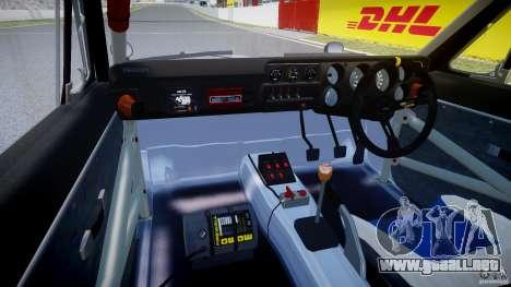 Nissan Skyline 2000 GT-R Drift Tuning para GTA 4 visión correcta