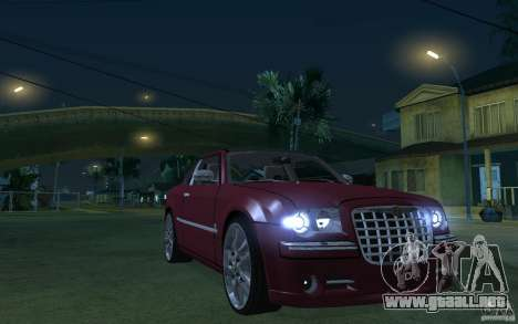 Chrysler 300c Roadster Part2 para GTA San Andreas vista hacia atrás