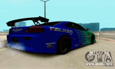 Nissan Silvia S15 Tunable para la vista superior GTA San Andreas