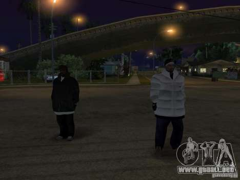 Nuevos aspectos de surco para GTA San Andreas segunda pantalla