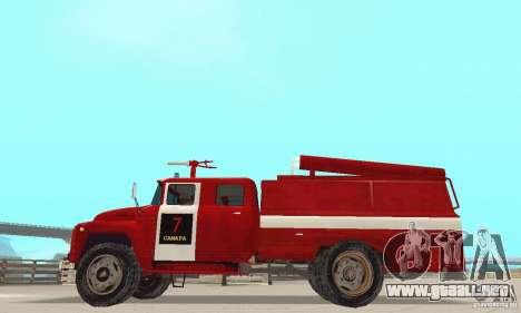 ZIL-130 incendios para GTA San Andreas left
