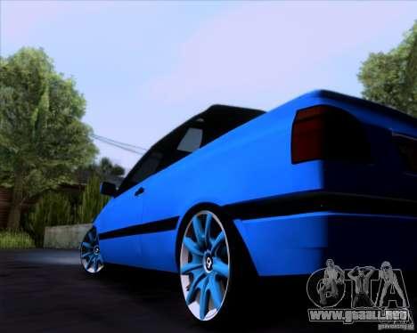 Volkswagen Golf III para la visión correcta GTA San Andreas