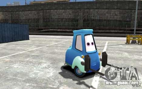 Guido de Cars Mater-National para GTA 4 vista hacia atrás