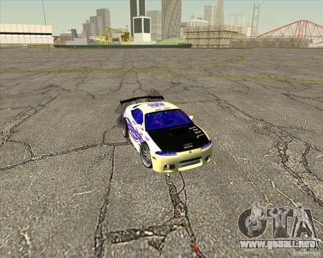 Mitsubishi Eclipse street tuning para GTA San Andreas interior