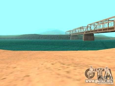 El agua de forma predeterminada para GTA San Andreas sexta pantalla