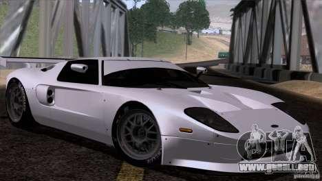 Ford GT Matech GT3 Series para la visión correcta GTA San Andreas